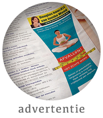 Advertentie Middenstander